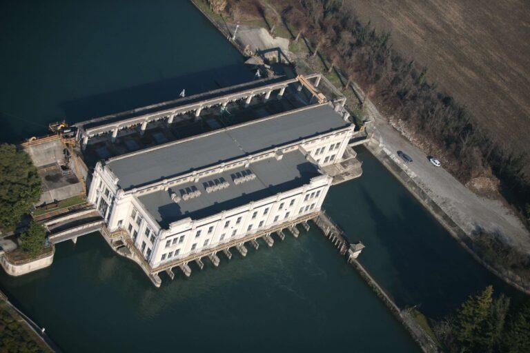 Centrale Idroelettrica Rusca vista dall'alto
