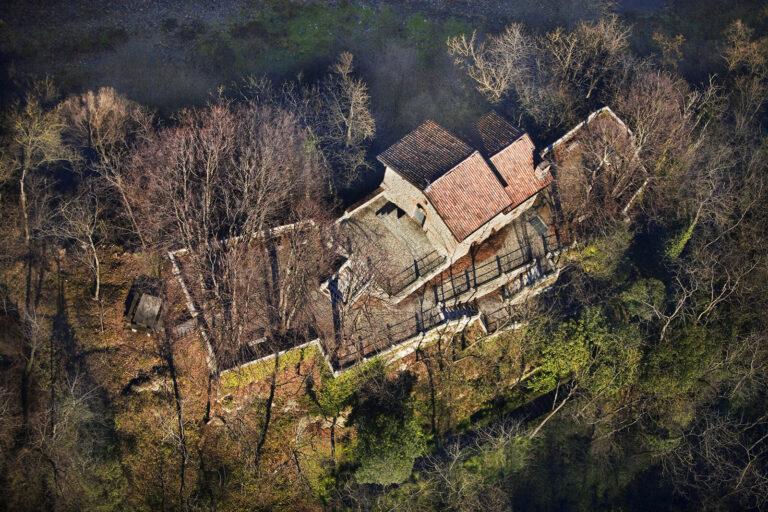 Vista dall'alto del Santuario della Madonna della Rocchetta